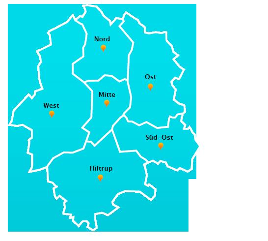 Stadtteile Winterdienst Schnee- Eisbeseitigung Münster